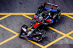 Stephane Sarrazin of Venturi Formula E team during the first stop of the FIA Formula E Championship HKT Hong Kong ePrix at the Central Harbourfront Circuit on 9 October 2016, in Hong Kong, China. Photo by Marcio Rodrigo Machado / Power Sport Images