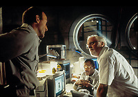 Jurassic Park (1993)<br /> Samuel L. Jackson, Richard Attenborough &amp; Bob Peck<br /> *Filmstill - Editorial Use Only*<br /> CAP/KFS<br /> Image supplied by Capital Pictures