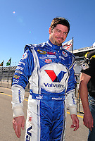 Feb 10, 2008; Daytona Beach, FL, USA; Nascar Sprint Cup Series driver Patrick Carpentier during qualifying for the Daytona 500 at Daytona International Speedway. Mandatory Credit: Mark J. Rebilas-US PRESSWIRE