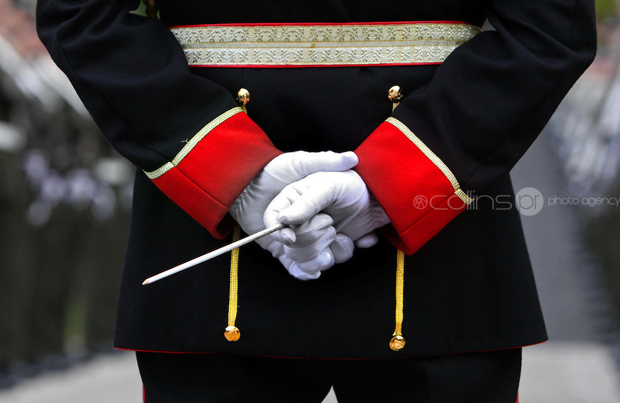 06/05/2009.Members of the Number One Army Band  at the Annual Mass for all who died in the 1916 rising at Arbour Hill, dublin..Photo: Gareth Chaney Collins