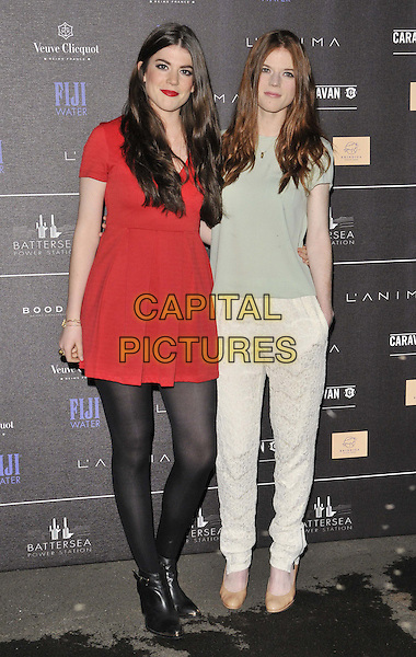 LONDON, ENGLAND - APRIL 30: guest &amp; Rose Leslie attend the Battersea Power Station 1st Annual Party, Battersea Power Station, Kirtling St., on Wednesday April 30, 2014 in London, England, UK.<br /> CAP/CAN<br /> &copy;Can Nguyen/Capital Pictures
