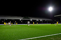 Matt Grimes of Swansea City takes a free kick during the Sky Bet Championship match between Fulham and Swansea City at Craven Cottage on February 26, 2020 in London, England. (Photo by Athena Pictures/Getty Images)