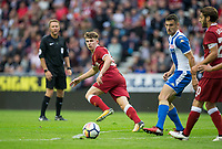 Ben Woodburn of Liverpool during the pre season friendly match between Wigan Athletic and Liverpool at the DW Stadium, Wigan, England on 14 July 2017. Photo by Andy Rowland.