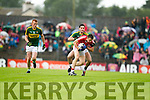 Kerry in action against  Cork in the Munster Final at Fitzgerald Stadium, Killarney on Saturday evening.