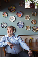 Plates owner Steve Day in Raleigh , N.C. on Thursday, March 20, 2014. (Justin Cook)