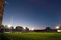 A general view of the Recreation Ground pitch. European Rugby Champions Cup match, between Bath Rugby and Benetton Rugby on October 14, 2017 at the Recreation Ground in Bath, England. Photo by: Patrick Khachfe / Onside Images