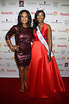 Laila Ali and Miss Black Alabama, LaQuitta Shai Wilkins attends the 14th Annual Red Dress Awards presented by Woman's Day Magazine at Jazz at Lincoln Center Appel Room on February 7, 2017 in New York City.