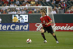 28 July 2004: American teenager Jonathan Spector. Glasgow Celtic of the Scottish Premier League defeated Manchester United of the English Premier League 2-1 at Lincoln Financial Field in Philadelphia, PA in a ChampionsWorld Series friendly match..