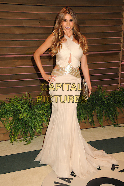 02 March 2014 - West Hollywood, California - Sofia Vergara. 2014 Vanity Fair Oscar Party following the 86th Academy Awards held at Sunset Plaza.  <br /> CAP/ADM/BP<br /> &copy;Byron Purvis/AdMedia/Capital Pictures
