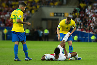 Rio de Janeiro (RJ), 07/07/2019 - Copa América / Final / Brasil x Peru -  Arthur do Brasil durante partida contra o Peru jogo válido pela Final da Copa América no Estádio do Maracanã no Rio de Janeiro neste domingo, 07. (Foto: Gustavo Serebrenick/Brazil Photo Press)