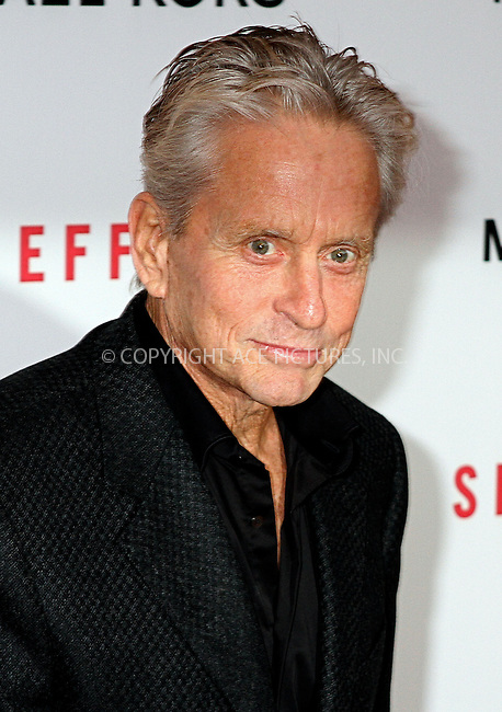 WWW.ACEPIXS.COM....January 31 2013, New York City........Michael Douglas arriving at the premiere of 'Side Effects' at AMC Lincoln Square Theater on January 31, 2013 in New York City....By Line: Nancy Rivera/ACE Pictures......ACE Pictures, Inc...tel: 646 769 0430..Email: info@acepixs.com..www.acepixs.com