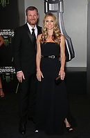 29 November 2018 - Las Vegas, NV - Dale Earnhardt Jr, Amy Earnhardt. 2018 Monster Energy NASCAR Awards Red Carpet at Wynn Las Vegas.     <br /> CAP/ADM/MJT<br /> &copy; MJT/ADM/Capital Pictures