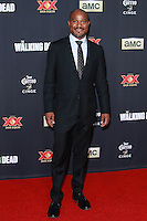 UNIVERSAL CITY, CA, USA - OCTOBER 02: Seth Gilliam arrives at the Los Angeles Premiere Of AMC's 'The Walking Dead' Season 5 held at AMC Universal City Walk on October 2, 2014 in Universal City, California, United States. (Photo by David Acosta/Celebrity Monitor)