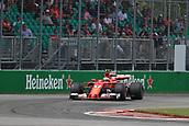 June 9th 2017, Montreal, Canada; Formula 1 Grand prix of Canada, Free practise day;  Kimi Raikkonen - Scuderia Ferrari SF70H
