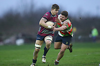 Ilford Wanderers RFC vs Barking RFC, London 3 Essex Division Rugby Union at Forest Road on 11th January 2020