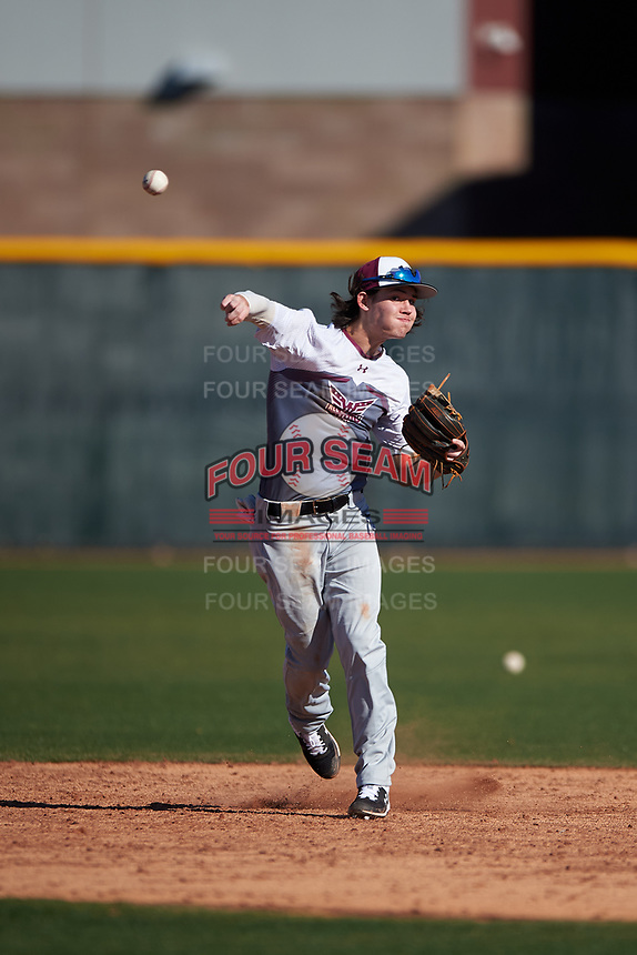 Victor Brown during the Under Armour All-America Tournament powered by Baseball Factory on January 18, 2020 at Sloan Park in Mesa, Arizona.  (Zachary Lucy/Four Seam Images)