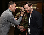 Andrew Lippa, Matt Gould and Michael McCorry Rose attend The Dramatists Guild Foundation Salon with Matt Gould on March 12, 2018 at StellarTower in New York City.