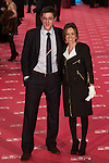 Eduardo Madina and Carme Chacon poses at Goya Cinema Awards 2012 ceremony, at the Palacio Municipal de Congresos on February 19, 2012 in Madrid..Photo: Cesar Cebolla / ALFAQUI
