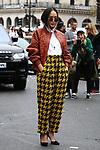 28/09/2017, Paris - Paris Fashion Week Women SS 2018 - Balmain.<br /> Chriselle Lim arrives at the Balmain Fashion Show during the Paris Fashion Week in Paris, France on September the 28 of 2017.