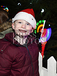 Alex Delaney at the turning on of the christmas lights in Bettystown. Photo:Colin Bell/pressphotos.ie