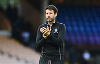 Lincoln City manager Danny Cowley applauds the fans at the final whistle<br /> <br /> Photographer Andrew Vaughan/CameraSport<br /> <br /> The EFL Sky Bet League Two - Port Vale v Lincoln City - Saturday 13th October 2018 - Vale Park - Burslem<br /> <br /> World Copyright © 2018 CameraSport. All rights reserved. 43 Linden Ave. Countesthorpe. Leicester. England. LE8 5PG - Tel: +44 (0) 116 277 4147 - admin@camerasport.com - www.camerasport.com