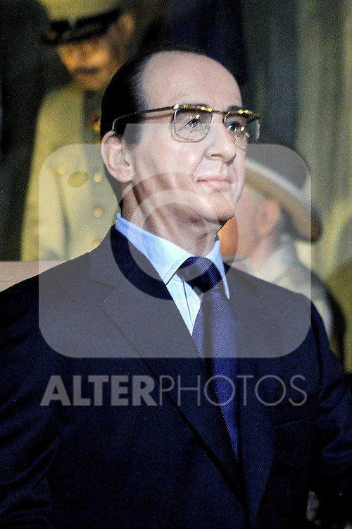 François Hollande wax figure. June 27,2012. (ALTERPHOTOS/Alconada)