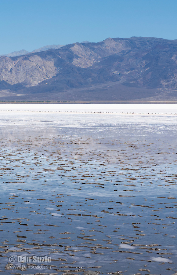 Salt Lake in Saline Valley, Death Valley National Park, California