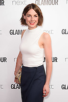 Jessica Raine<br /> arrives for the Glamour Women of the Year Awards 2016, Berkley Square, London.<br /> <br /> <br /> &copy;Ash Knotek  D3130  07/06/2016