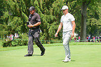 Phil Mickelson (USA), Alex Noren (SWE) during Friday's round 2 of the World Golf Championships - Bridgestone Invitational, at the Firestone Country Club, Akron, Ohio. 8/4/2017.<br /> Picture: Golffile | Ken Murray<br /> <br /> <br /> All photo usage must carry mandatory copyright credit (&copy; Golffile | Ken Murray)