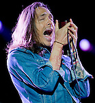 Incubus lead singer Brandon Boyd performs during the band's set at the KROQ Weenie Roast y Fiesta at Verizon Wireless Amphitheater Saturday.