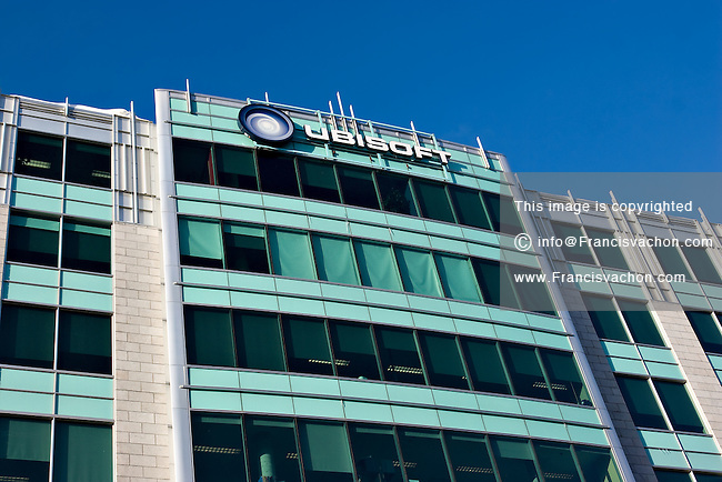 Ubisoft building in Quebec City | Stock photos by Francis Vachon