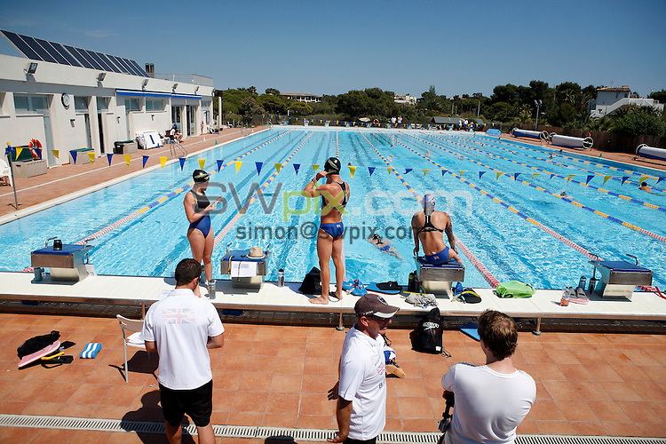 PICTURE BY VAUGHN RIDLEY/SWPIX.COM - Disability Swimming - Warm Weather Training Camp - Best Swim Centre, Colonia Sant Jordi, Mallorca, Spain - 23/05/12.