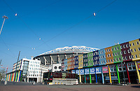 The Arena Boulevard and the Amsterdam Arena in Amsterdam (Holland, 17/04/2011)