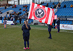 Sheffield Utd flags during the The FA Women's Championship match at the Proact Stadium, Chesterfield. Picture date: 8th December 2019. Picture credit should read: Simon Bellis/Sportimage