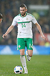 Stuart Dallas of Northern Ireland during the international friendly match at the Cardiff City Stadium. Photo credit should read: Philip Oldham/Sportimage
