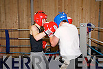 Ballyduff Boxing Club : Paul Kepple & Jack O'Grady in training.....Ref Jimmy Darcy