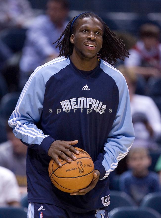 DeMarre Carroll..March 28, 2010 Milwaukee, WI. Bradley Center...Milwaukee Bucks won over the Memphis Grizzlies 108-103, in overtime.