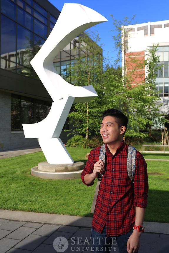 April 14th 2016 - Seattle University scholarship students.