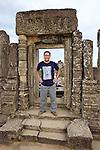 Tony At Phnom Bakheng Temple