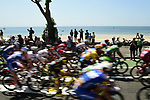 The start of Stage 4 of the 2018 Tour de France running 195km from La Baule to Sarzeau, France. 10th July 2018. <br /> Picture: ASO/Pauline Ballet | Cyclefile<br /> All photos usage must carry mandatory copyright credit (&copy; Cyclefile | ASO/Pauline Ballet)