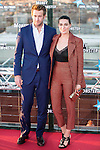 """Eugenia Ortiz and her husband Juan Melgarejo during the premiere of the American Film """"Money Monster"""" at the Roof of the Torre Picasso in Madrid. May 18 2016. (ALTERPHOTOS/Borja B.Hojas)"""