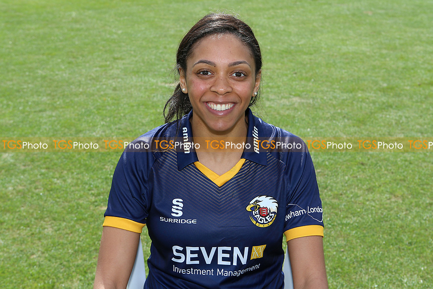 Cordelia Griffith of Essex in NatWest T20 Blast kit during the Essex CCC Press Day at The Cloudfm County Ground on 5th April 2017