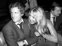 Flick Hamilton4121.JPG<br /> Celebrity Archaeology<br /> 1977 FILE PHOTO<br /> New York City<br /> Mick Flick, Alana Hamilton at Studio 54<br /> Photo by Adam Scull-PHOTOlink.net