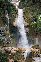 Kwangsi Waterfall, near Luang Prabang, Laos