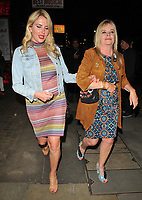 Nancy Sorrell and guest at the &quot;Kinky Boots&quot; gala performance departures, Adelphi Theatre, The Strand, London, England, UK, on Tuesday 29 May 2018.<br /> CAP/CAN<br /> &copy;CAN/Capital Pictures