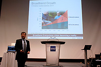 Toronto (ON), July 10, 2007 - Ericsson Canada's CTO Dragan Nerandzic presents the future wireless technologies before they are available to Canadians.