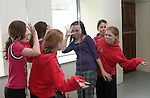 Stepanie McDonnell, Gillian Duffy and Kaitlyn Sweeney at Drama Class at the Open Day at the Old Abbey Dance Studio...Photo NEWSFILE/Jenny Matthews.(Photo credit should read Jenny Matthews/NEWSFILE)....This Picture has been sent you under the condtions enclosed by:.Newsfile Ltd..The Studio,.Millmount Abbey,.Drogheda,.Co Meath..Ireland..Tel: +353(0)41-9871240.Fax: +353(0)41-9871260.GSM: +353(0)86-2500958.email: pictures@newsfile.ie.www.newsfile.ie.FTP: 193.120.102.198.