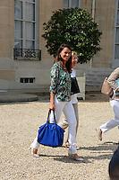 Aurelie Filippetti ( Ministre de la Culture et de la Communication ) .Parigi 22/8/2012.Consiglio dei Ministri.Foto Insidefoto / Christian Liewig / FEP / Panoramic.ITALY ONLY
