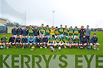 The Kerry hurling minor team who played Tipperary in the Nolan Cup at Abbeydorney on Saturday.
