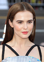 HOLLYWOOD, LOS ANGELES, CA, USA - JUNE 17: Actress Zoey Deutch arrives at the Los Angeles Premiere Of HBO's 'True Blood' Season 7 held at the TCL Chinese Theatre on June 17, 2014 in Hollywood, Los Angeles, California, United States. (Photo by Xavier Collin/Celebrity Monitor)